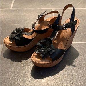 Born Black Sandals 7M